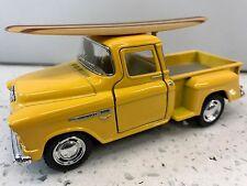 Chev 55 Stepside Truck Surfboard KT.5330.DS Yellow