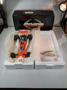 Gilles Villeneuve, 1977 McLaren Ford M23, 1:18 Minichamps