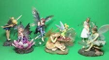 Tinker Bell & Fairy & Angel Lot Of 7 Dezine - Hallmark -  Disney Figurine Statue