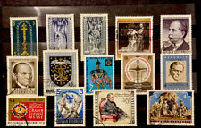 AUSTRIA Stamps 14 Different Mix Conditions Year 1967-81 (882)