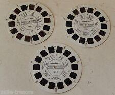 3 Disques Stéréo VIEW MASTER RAINBOW BRITE Blondine au pays de l'arc-en-ciel 83
