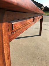 brown country style dinning table