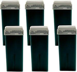 Dermawax Roll-on Aloe Vera Wachspatronen Warmwachs zur Haarentfernung Enthaarung