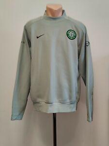 Football jacket soccer FC Celtic Hoops Training 2005/2006 Nike Top Sweatshirt L