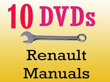 Renault dialogys workshop manuals parts wiring schematics 10 dvd