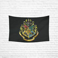 """Wall Hanging Tapestry Harry Potter Hogwarts Cotton Linen Wall Tapestry60''x 40"""""""