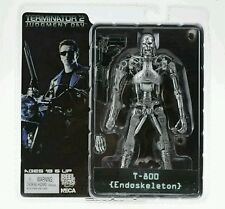 "TERMINATOR 2/ T-800 ENDOSKELETON 18 CM- ACTION FIGURE 7"" IN  BOX NECA"