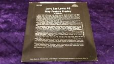 """JERRY LEE LEWIS & FRIENDS  / """"SAVE THE LAST DANCE FOR ME"""" / SUN SINGLE"""