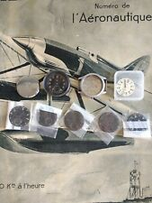 RARE DIRTY DOZEN WWW WATCH PARTS LOT RECORD TIMOR ATP DIALS CASE CASEBACK WWII