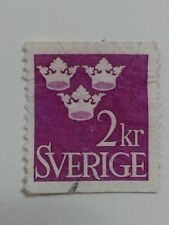 SWEDEN STAMP - 2kr