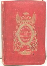 Appleton's Railroad and Steamboat Companion a Traveler's Guide 1849 w/30 Maps
