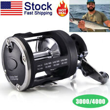 Black Trolling Fishing Reel Saltwater Right Hand Sea Bait Casting Fishing Reels