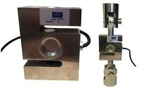 S Type load cell , 2000 kg capacity  with rod ends and brackets
