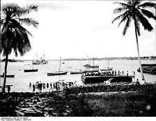 German East Africa Burundi Rwanda Tanzania Dar Es Salaam 1906 5x4 Inch Photo