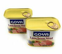 Goya Luncheon Meat Pork & Chicken 12 oz 2 Pack Free Fast  Shipping