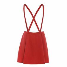 54c5eb4e3 Faldas de mujer rojos de poliéster | Compra online en eBay
