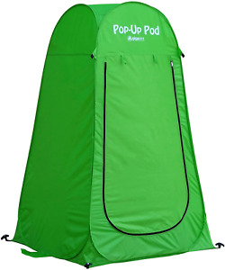 Instant Pop Up Pod Portable Shower Station And Privacy Room Pop Up Camping Tent