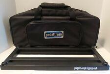 Pedaltrain Mini w/ Black Soft Case For Guitar/Bass Foot Pedals, w/ Hook & Loop