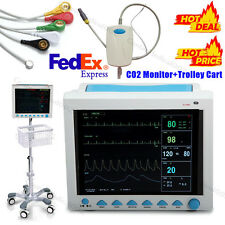 CO2 Monitoring ICU Patient Monitor Vital Signs Monitor bracket / Rolling Stand