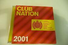 CLUB NATION 2001 CD MINISTRY OF SOUND IAN VAN DAHL N-TRANCE DARUDE KOSHEEN....