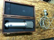 Neumann U 87 AI Condenser Microphone w/Shock Mount U87 87AI Mic / case //ARMENS