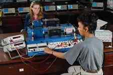 673077 Hi tech Test Bench A4 Photo Print