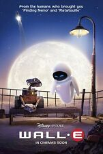 WALL-E ORIGINAL  27x40 DS INTERNATIONAL STYLE MOVIE POSTER PLUS PIXAR BONUS