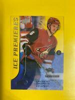 7357 2015-16 Upper Deck Ice #116 Laurent Dauphin ROOKIE #/1999