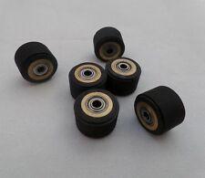 10pcs Pinch Roller Roland Mimaki Printer Vinyl Cutter Cutting Plotter 4x10x14mm