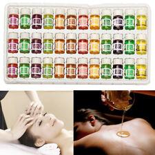 36pcs Naturelle Huile Essentielle Pure Aromathérapie Thérapeutique Diffuseur 3ml