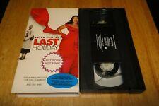 Last Holiday (VHS, 2006) Queen Latifah Comedy Ultra Rare Promo Demo Screener