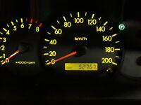 GENUINE 2005 KIA RIO 1.5L Ei 00-05 auto sedan, CLUSTER INSTRUMENT, KM 52,767
