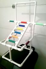 Deluxe Ladder Play Gym Perch Stand *W Pan! * Free Shipping!