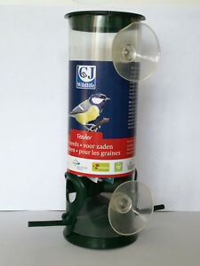 Window Seed Feeder for Birds