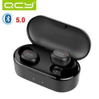 QCY T2C BT 5.0 TWS Earbuds True Wireless Headphones Earphones With Charging Case