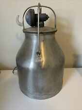 Vintage French Marked Delaval Milker Bucket 16h X12d
