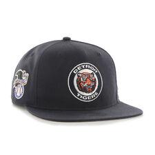 Detroit Tigers - '47 Brand MLB Snapback Hat Cap -Flat Brim Sure Shot Cooperstown