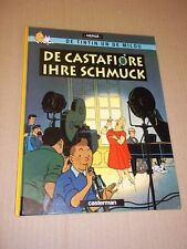 TINTIN - LES BIJOUX DE LA CASTAFIORE  HERGE (1984) EDITION CASTERMAN EN ALSACIEN