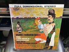 Kubelik Brahms Hungarian Dances Dvorak Slavonic Rhapsody LP Capitol 1959 EX