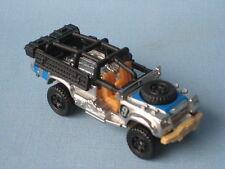 Matchbox Sahara Survivor Land Rover Army SAS Military Silver Finish Toy Car
