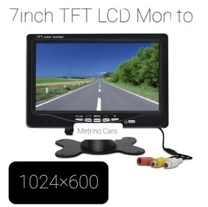 """7"""" Car Monitor 1024x600 Security Monitor Parking assistance HD screen"""