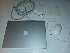 Apple Powerbook G4 Titanium Antimony A1025 1Mhz 512Mb 60Gb Os 9.2.2 Please Read