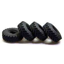 4Pcs 2.2Inch Rubber Tyres w/ foam inserted for Axial Wraith RC ROCK CRAWLER Car