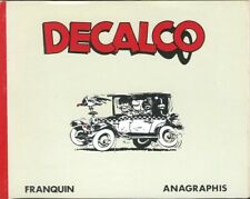 RARE EO ANAGRAPHIS 1988 LIVRE COMPLET + ANDRÉ FRANQUIN : DECALCO