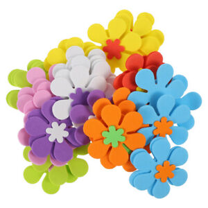 81pcs Flower Shapes Sticker Practical Durable Creative Self-adhesive Sticker