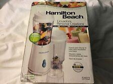 👍Hamilton Beach 51102 Single Serve Blender - White open box