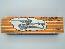 CRESCENT TOYS - 155 - 155MM LONG TOM ARTILLERY GUN - BOITE VIDE - ANCIEN -