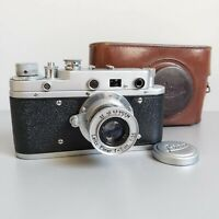 Leica-II (D) Luftwaffe camera vintage with Leitz Elmar 3.5/50 (FED Copy)