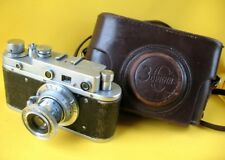 CAMERA ZORKI S C with Lens Industar- 22 1:3,5 Russian Leica Copy Soviet USSR