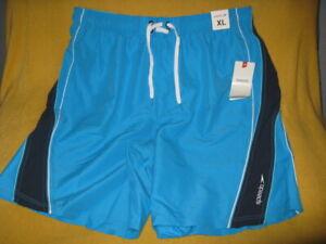 NWT Men's Speedo Size XL Swim Shorts Trunks - Speedry - Water Repellent Fabric